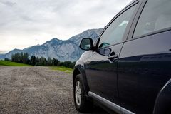 Car for traveling Stock Photos