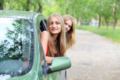 Car trip Royalty Free Stock Photos
