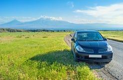 The car trip around Armenia Royalty Free Stock Photos