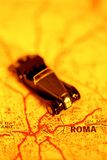 Car trip to Rome Royalty Free Stock Photos