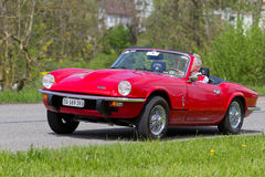 Car Triumph Spitfire GT6 MK III from 1971 Stock Image