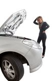 Car trouble Stock Photography