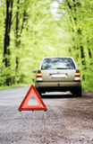 Car trouble Royalty Free Stock Photography