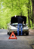 Car trouble Stock Photo