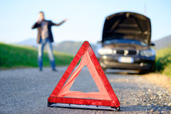 Car trouble Royalty Free Stock Images