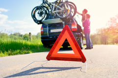 Car Trouble Stock Image