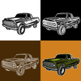 Car truck 4x4 pickup off-road. Vector illustration car truck 4x4 pickup vector illustration