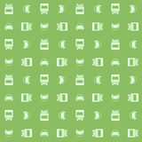 Car and truck. Seamless pattern Royalty Free Stock Photo