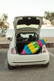 Car Trunk Beach Royalty Free Stock Photo