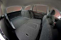 Car trunk, car interior Stock Images