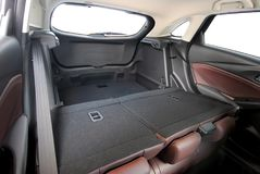 Car trunk inside Royalty Free Stock Image