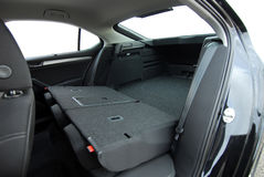 Car trunk inside Stock Photo