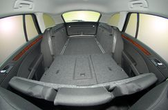 Car trunk inside Stock Photography