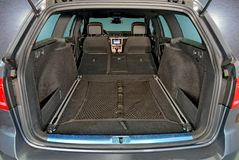 Car trunk inside Stock Images