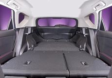 Car trunk inside Royalty Free Stock Photo
