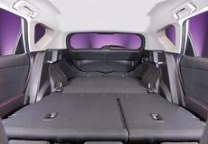 Car trunk inside Royalty Free Stock Photo