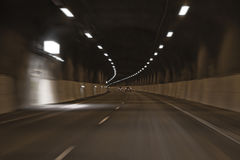 Car tunnel Stock Images
