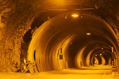 Car tunnel Royalty Free Stock Image