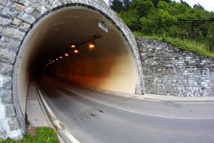 Car tunnel Stock Image