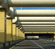 Car tunnel in city Royalty Free Stock Photography