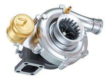 Car turbocharger. Auto parts Stock Images