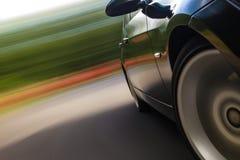 Car in turn Stock Image