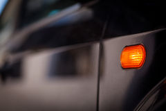 Car turn signal Stock Image