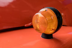 Car turn signal lamp Stock Image