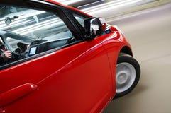 Car turning Royalty Free Stock Image