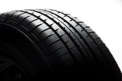 Car tyre Royalty Free Stock Images