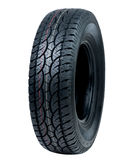 Car tyre. New tyre for car or pickup truck Stock Photo