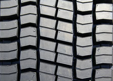 Car tyre. Closeup detail of the car tyre Royalty Free Stock Images