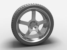 Car Tyre Royalty Free Stock Photos
