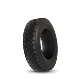 Car tyre. Recycling concept. Isolation on white Stock Photography