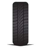 Car tyre - tire Stock Images