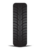 Car tyre - tire Stock Photography