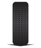 Car tyre - tire Royalty Free Stock Photo