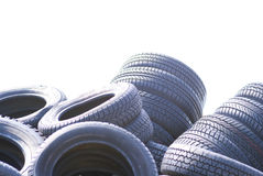 Car tyres Royalty Free Stock Photography