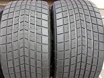 Car Tyres. Stock Photo