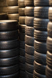 Car tyres Royalty Free Stock Photos