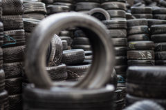 Car tyres Stock Images