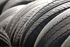 Car tyres Royalty Free Stock Image