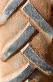 Car tyres close up Stock Image