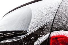 Car under snow Stock Photo