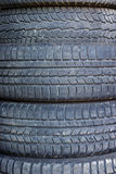 Car used tires Royalty Free Stock Photo