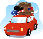 Car on vacation Royalty Free Stock Images