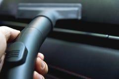 Car vacuuming Stock Images
