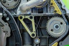 Car valve train Royalty Free Stock Image