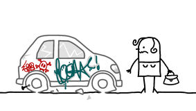 Free Car Vandalized Stock Images - 31896254