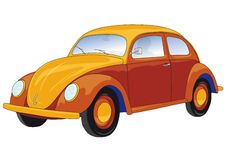 Car (vector). A car (cmyk to rgb Royalty Free Stock Photography